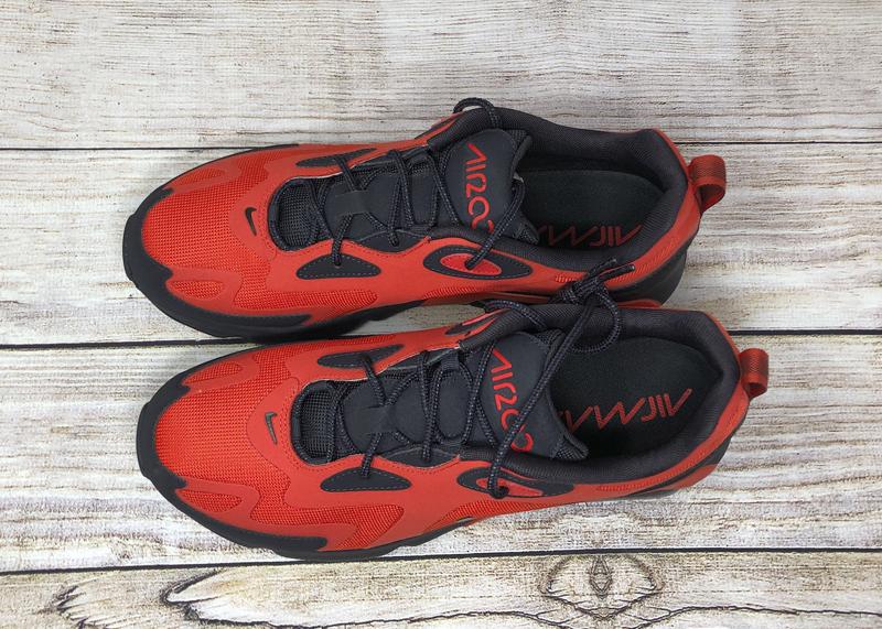 Nike Air Max 200 Habanero Red Oil Grey AQ2568 600 2