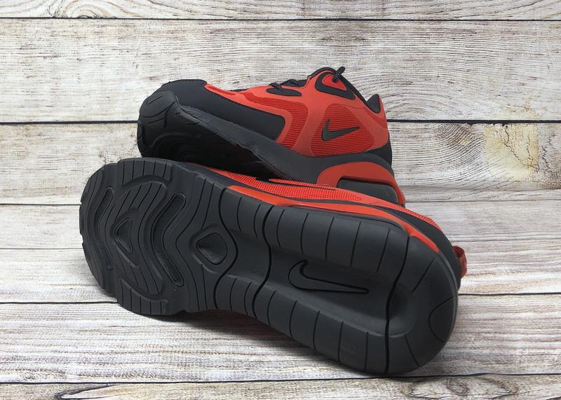 Nike Air Max 200 Habanero Red Oil Grey AQ2568 600 5