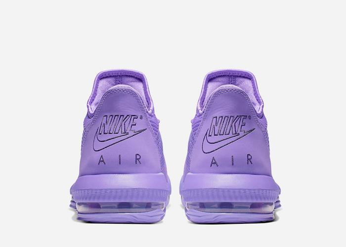 Nike LeBron 16 Low Atomic Violet CI2668 500 back