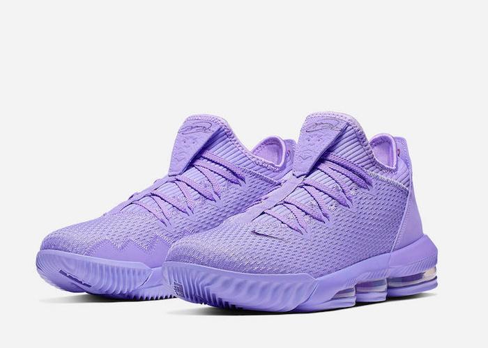 Nike LeBron 16 Low Atomic Violet CI2668 500 main