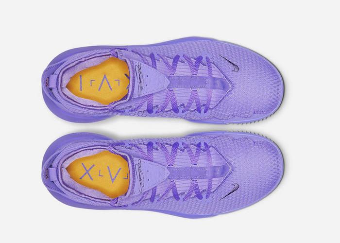 Nike LeBron 16 Low Atomic Violet CI2668 500 top 2