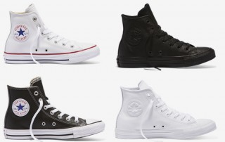 Converse Leather Hi Top Sneakers