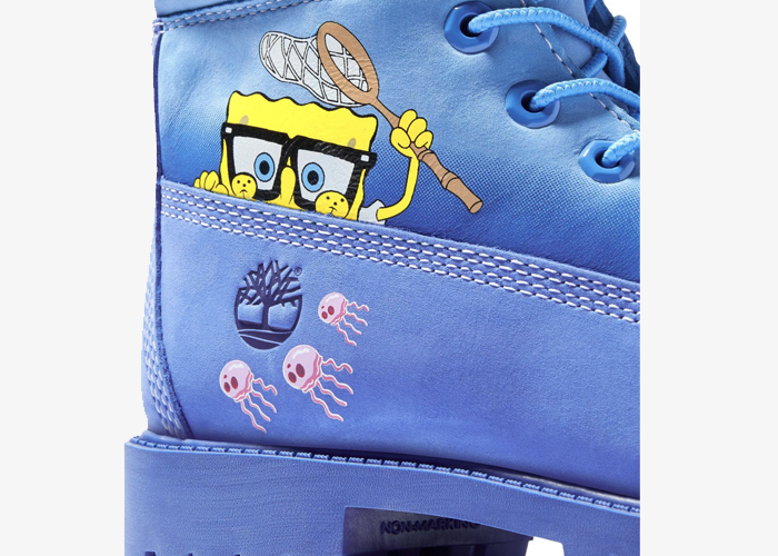 Timberland SpongeBob blue yellow 2