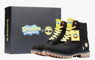 Timberland x SpongeBob Square Pants Collection
