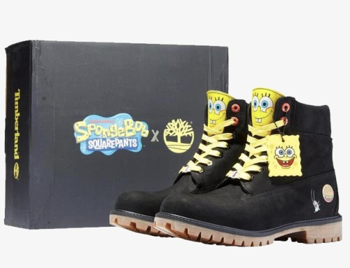 Timberland x SpongeBob Squarepants Collection