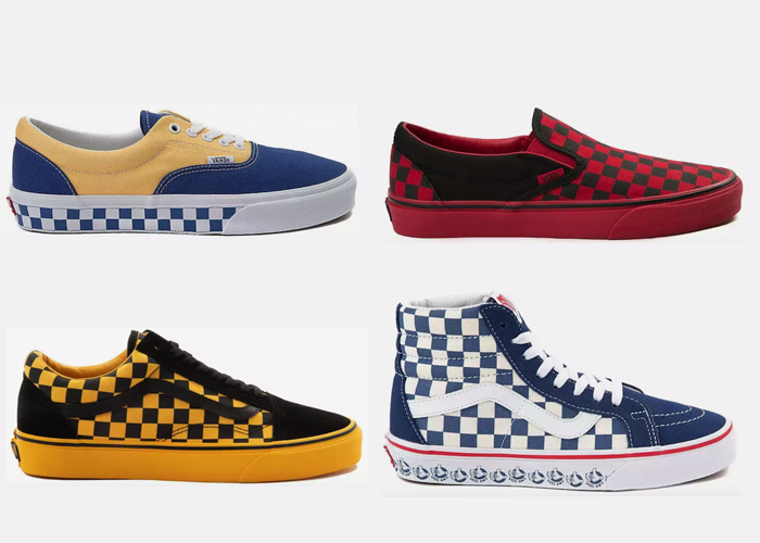 Vans Checkered Shoes Checkerboard where to buy
