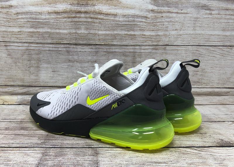 Nike Air Max 270 CJ0550001 platinum tint volt dark gray 5