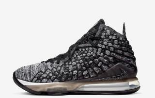 Nike LeBron 17 black white BQ3177 002 thumb