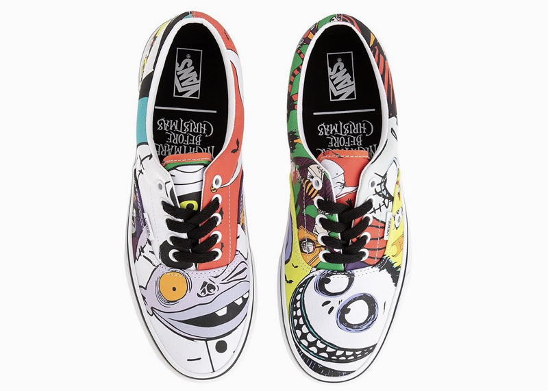 Vans x Disney The Nightmare Before Christmas Shoes Halloween Town ERA