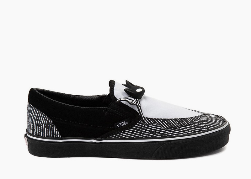 Vans x Disney The Nightmare Before Christmas Shoes Jack Skellington slip on