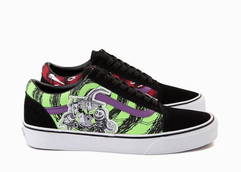 Vans x Disney The Nightmare Before Christmas Shoes Lock Shock and Barrel old skool