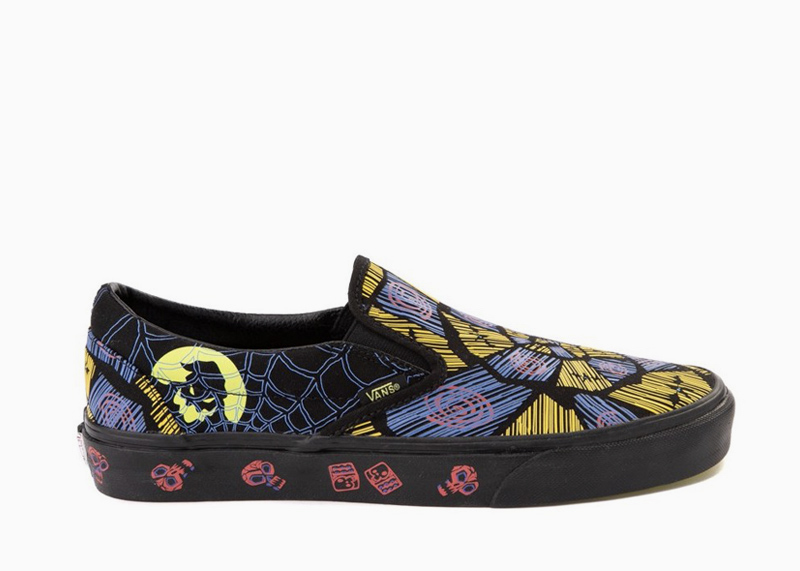 Vans x Disney The Nightmare Before Christmas Shoes Oogie Boogie slip on