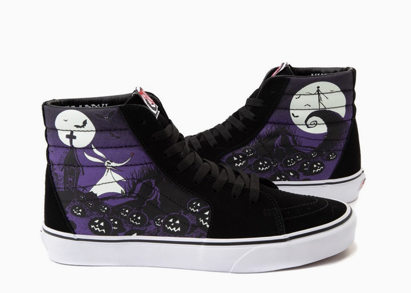 Vans x Disney The Nightmare Before Christmas Shoes sk8 Jacks Lament