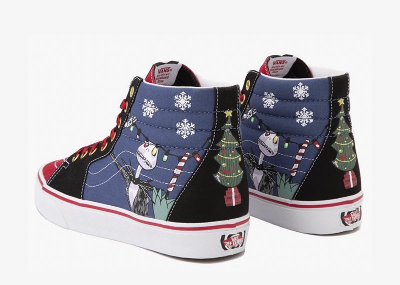 Vans x The Nightmare Before Christmas Sk8 Hi Christmas Town Skate Shoe 1