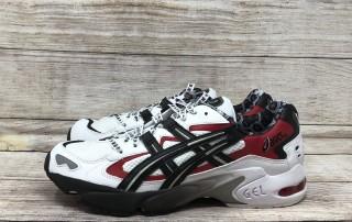 ASICS GEL Kayano 5 OG 1021A182 100 White Black Red 1