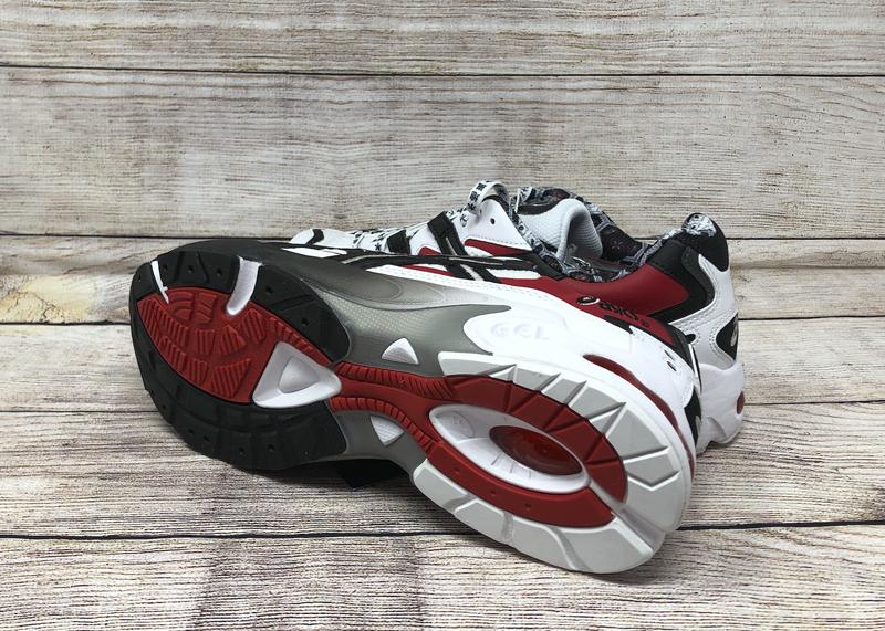 ASICS GEL Kayano 5 OG 1021A182 100 White Black Red 4