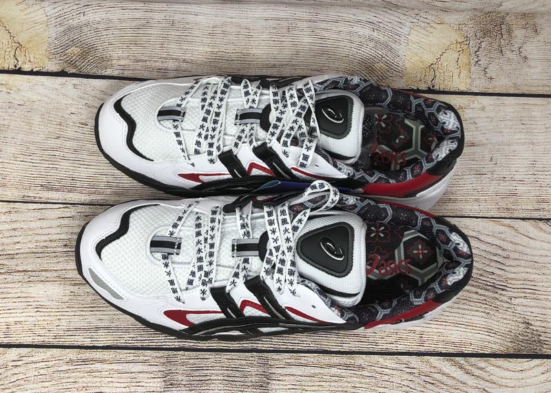 ASICS GEL Kayano 5 OG 1021A182 100 White Black Red 5