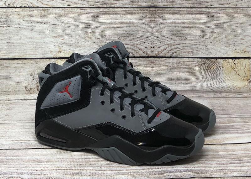 Jordan B Loyal cool gray black university red CQ 9449 001