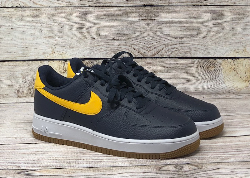 Nike Air Force 1 07 obsidian university gold white CI0057 400 3