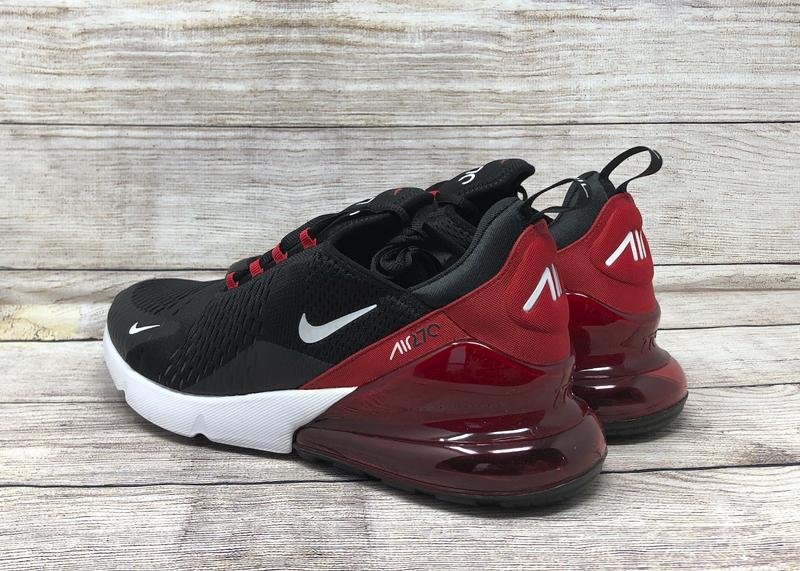 Nike Air Max 270 AH8050 022 Black University Red white 3
