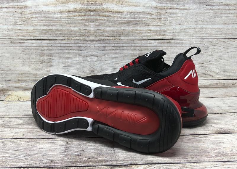 Nike Air Max 270 AH8050 022 Black University Red white 4