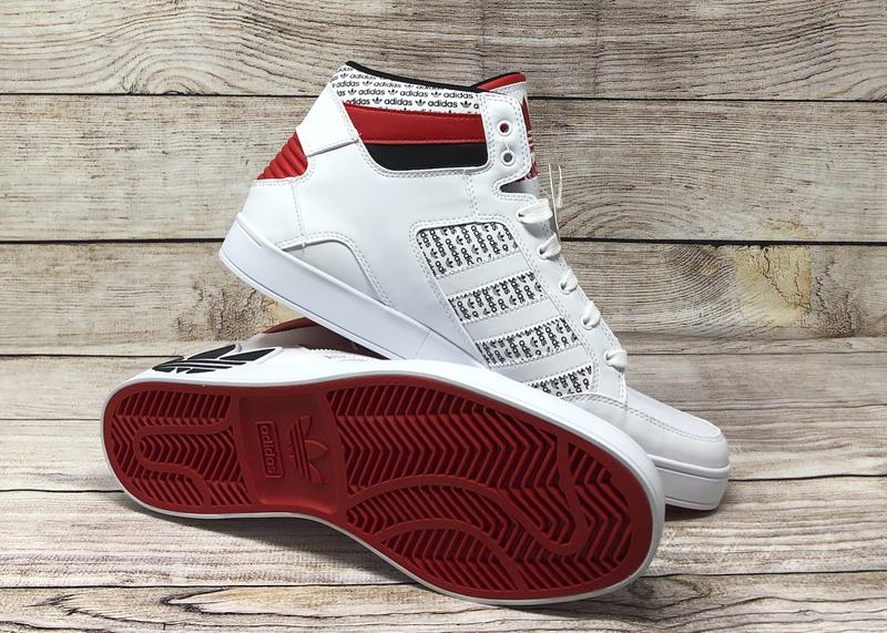 adidas Hardcourt FV6976 white black red 5