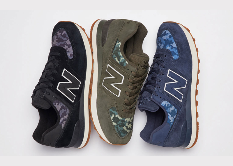 New Balance 574 Moonbeam Camo Collection