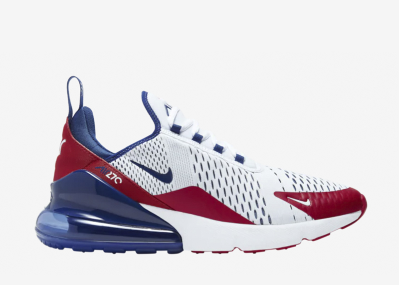 Nike Air Max 270 Americana Team USA CW5584 100
