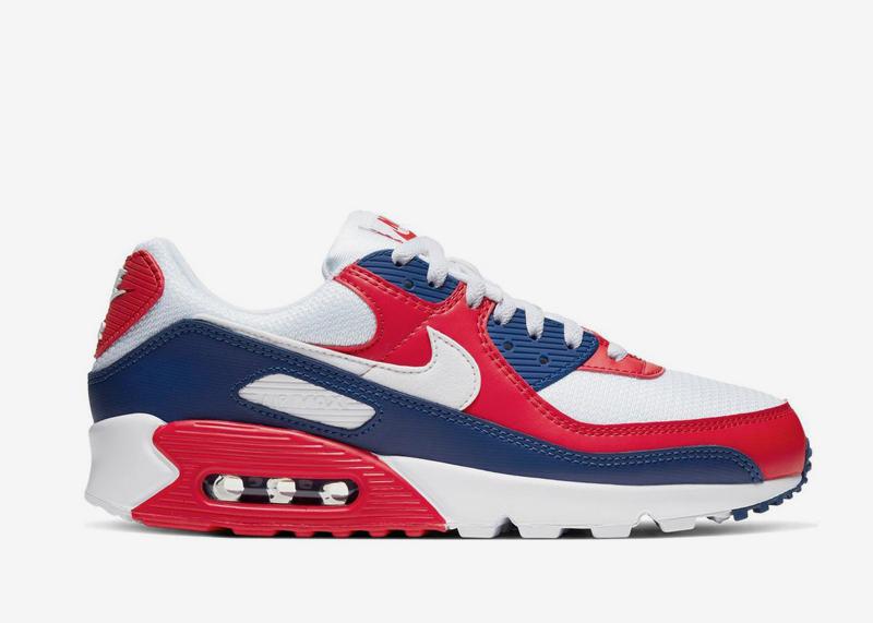 Nike Air Max 90 Americana Team USA CW5456 100