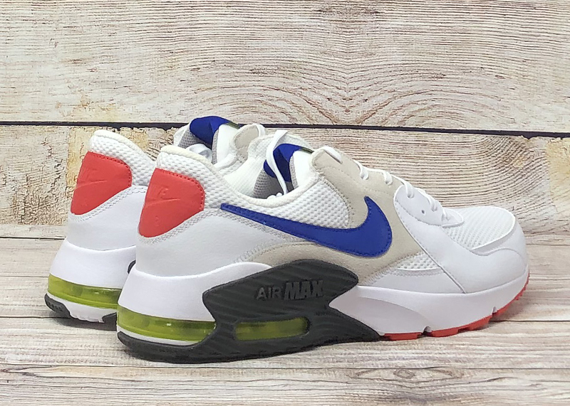 Nike Air Max Excee white blue red2