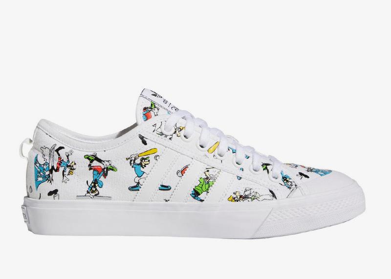 adidas Goofy Nizza White