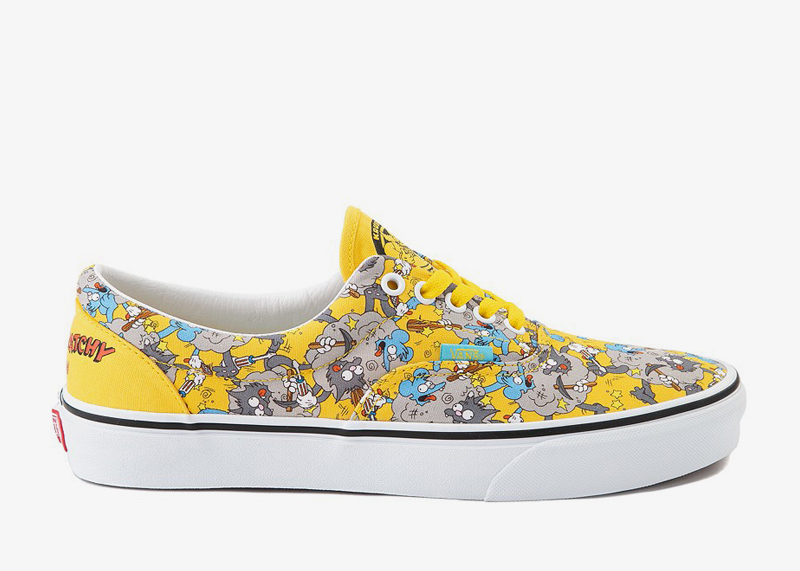 Itchy and Scratchy Era Shoe Simpsons Vans