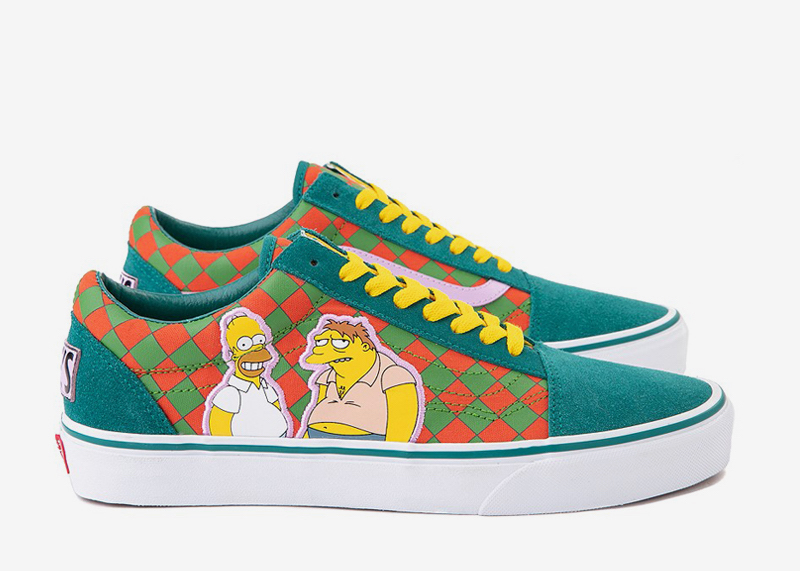 Moes Tavern Simpsons Vans