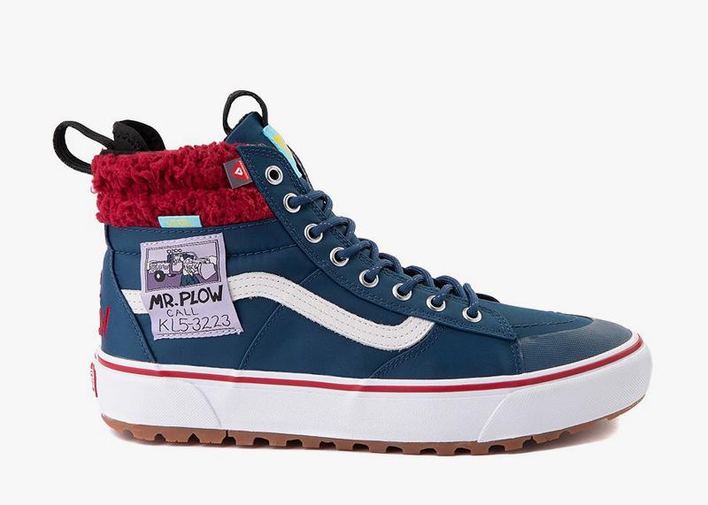 Mt Plow SK8 Shoes Simpsons Vans Shoes