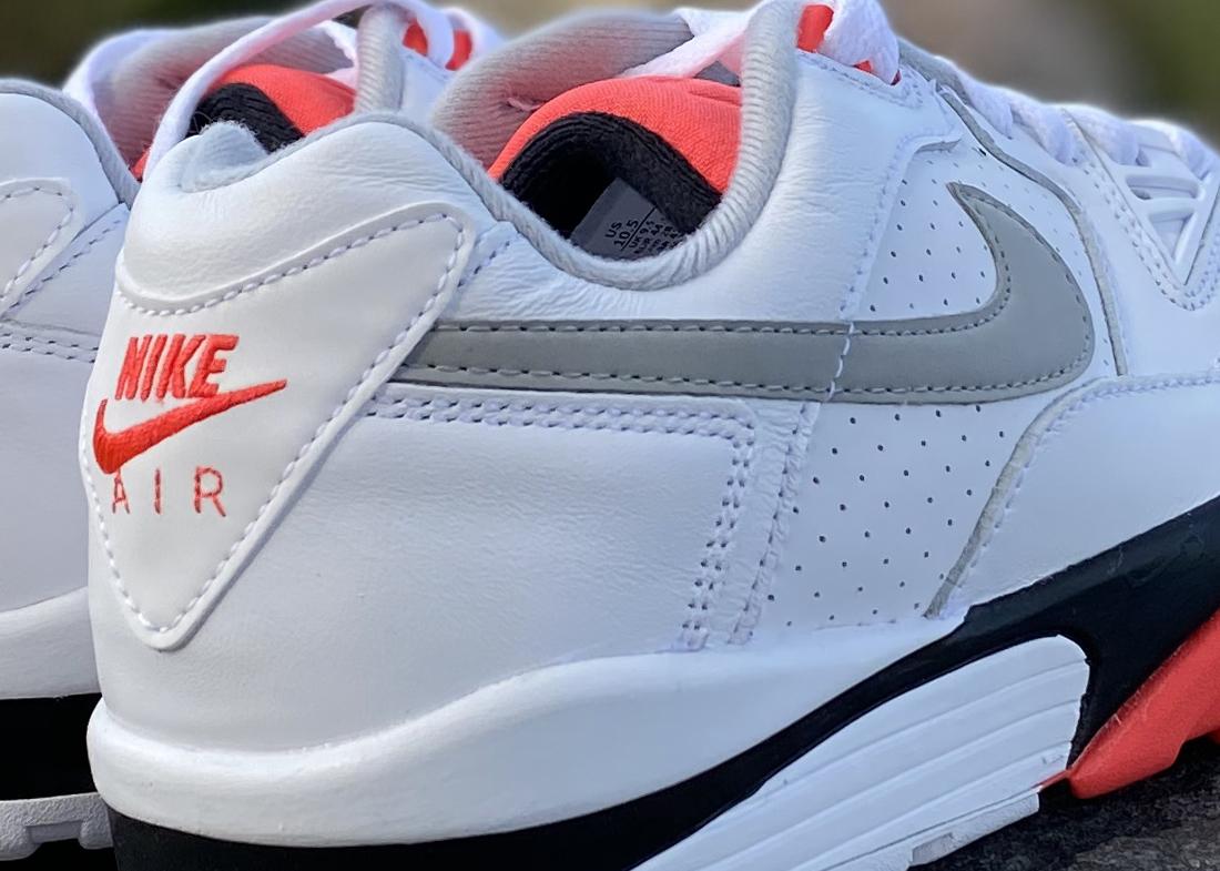CLOSEUP Nike aIR Cross Trainer 3 low