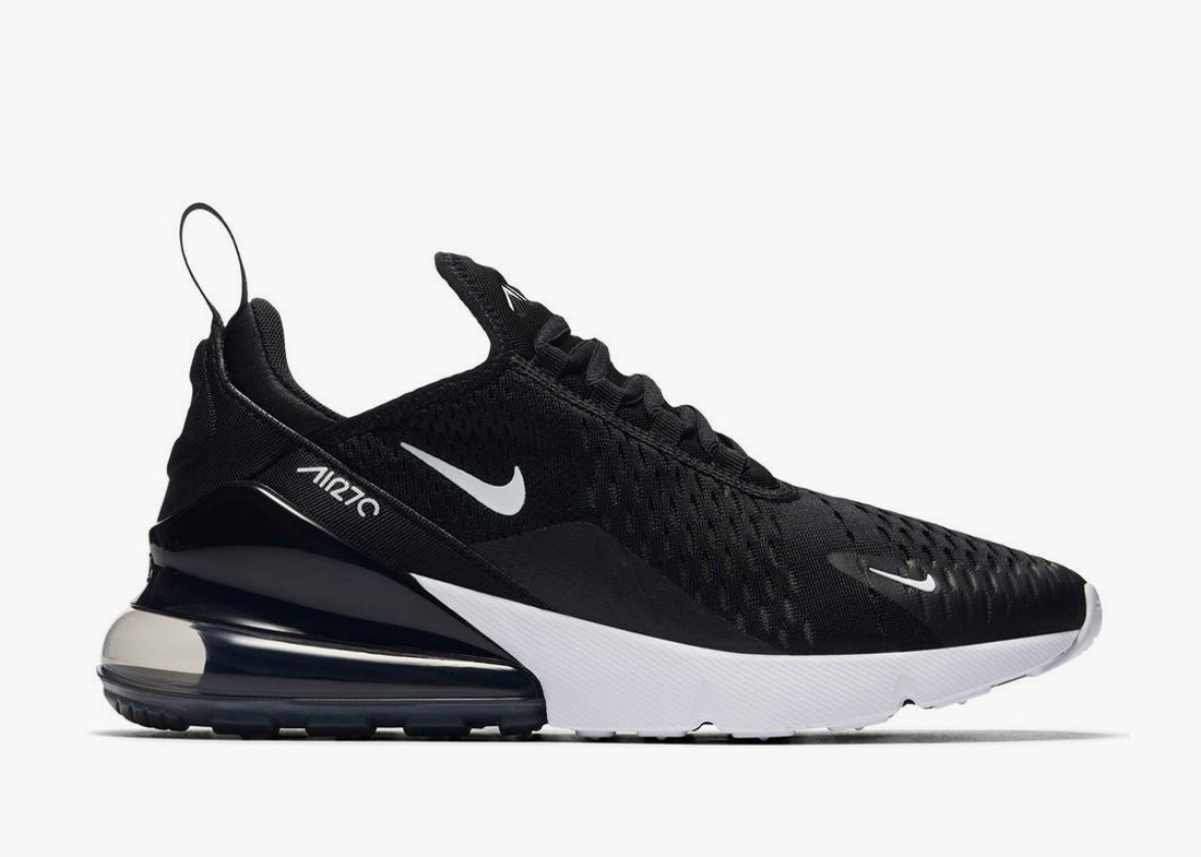 Nike Air Max 270 black for work
