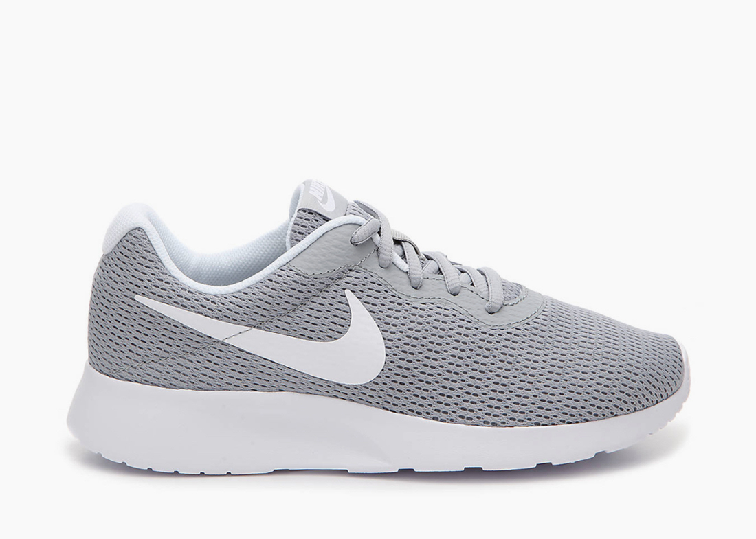 Nike Tanjun gray work shoes