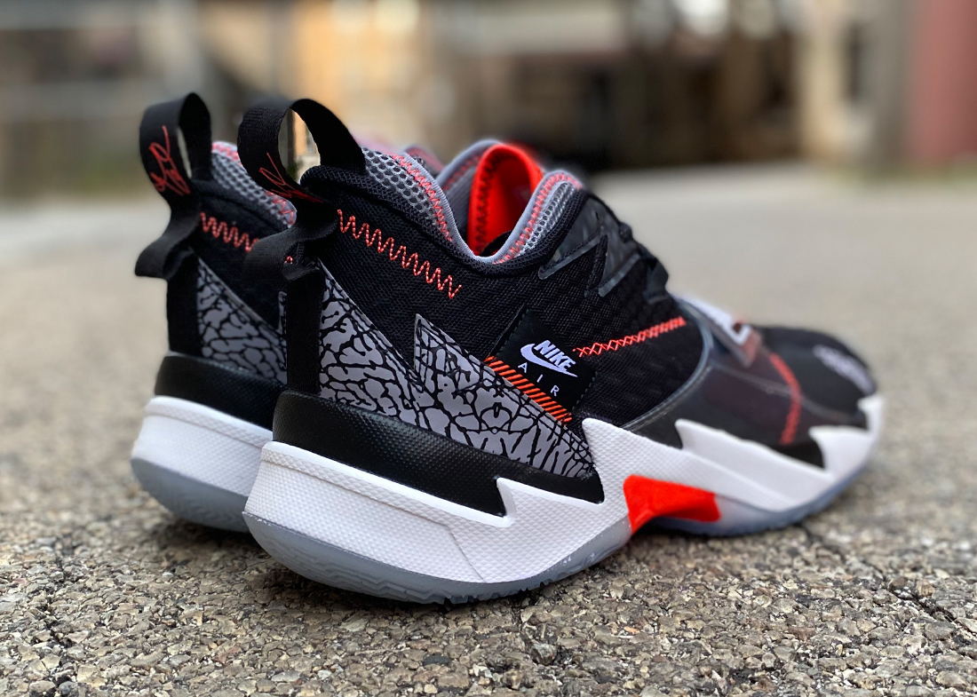 Jordan Why Not Zer0.3 black crimson4
