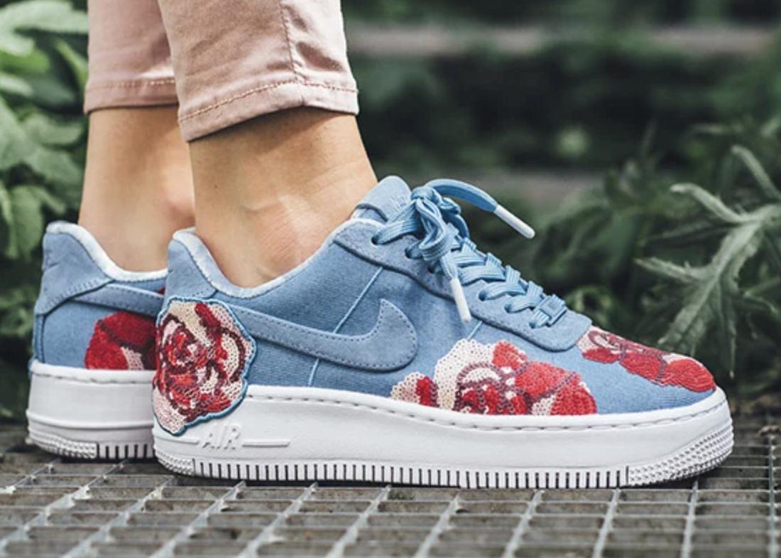 Custom Nike Air Force 1 Floral