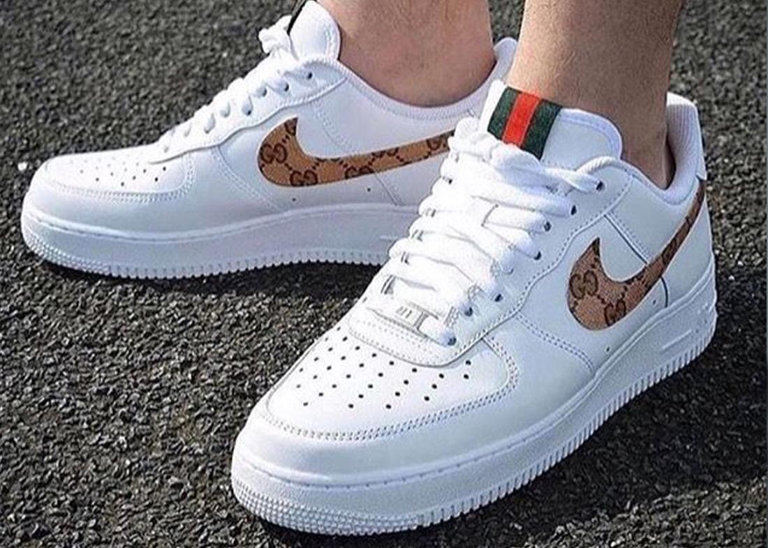Custom Nike Air Force 1 Gucci